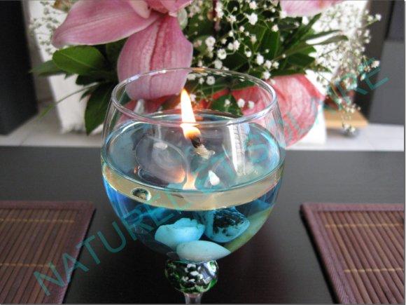 bougies flottantes et invisibles ouiii