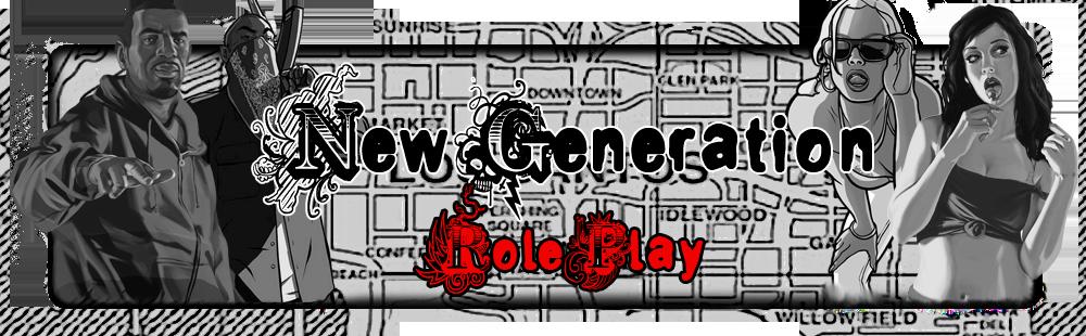 New Génération Role Play Index du Forum